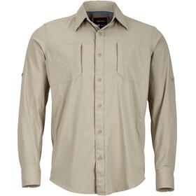 Marmot Trient - Camiseta de manga larga Hombre - Oliva